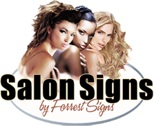 Salon Signs by Forrest Signs